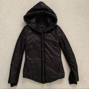 BCBGMaxAzria Black Puffer Down Coat